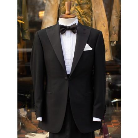 Bladen Black Serge Dinner Jacket and Waistcoat