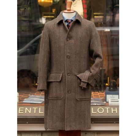 Chrysalis Belted Raglan Tweed Coat