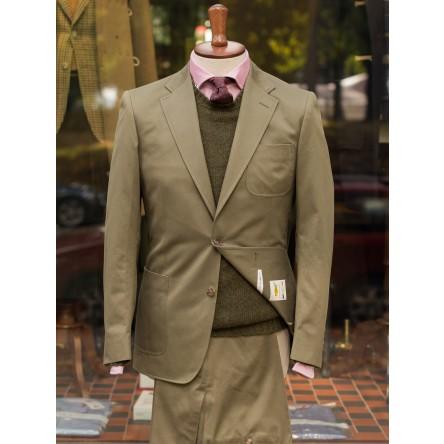 Bladen Unstructured Cotton Drill Jacket
