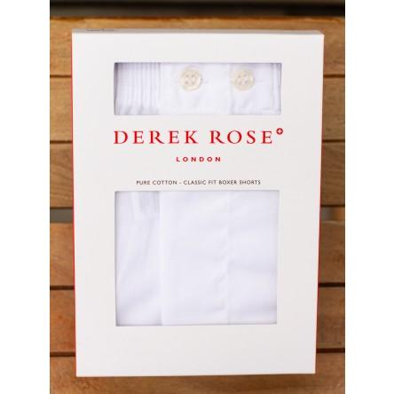 Derek Rose Classic Fit Cotton Poplin Boxer Shorts
