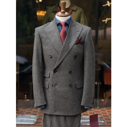 Bladen Glencheck Fox Flannel DB Suit