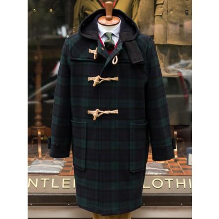 Gloverall Tartan Monty Duffle Coat