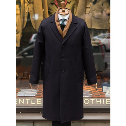 Gloverall Raglan Chesterfield Coat