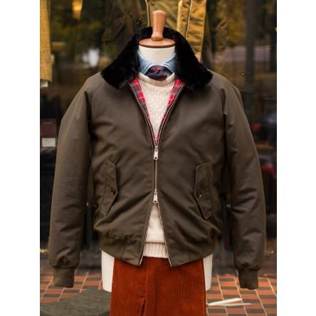 Baracuta G9 Waxed Cotton Harrington Jacket
