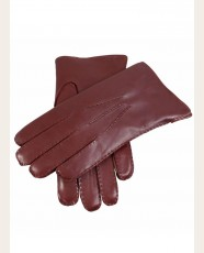 Dents Fur Lined Leather Gloves English Tan