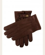 Dents Cashmere Lined Deerskin Gloves Bark