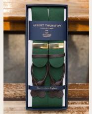 Albert Thurston Boxcloth Braces Green