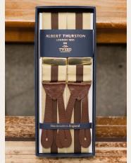 Albert Thurston Barathea Braces Brown Khaki