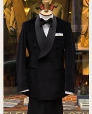 Bladen DB Shawl Dinner Jacket Black Velvet