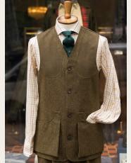 Chrysalis Moorland Rustic HB Tweed Waistcoat