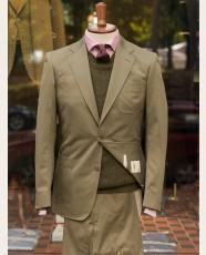 Bladen Unstructured Cotton Drill Jacket Olive