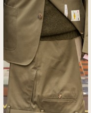 Bladen Harpley Cotton Drill Trouser Olive