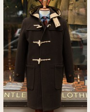 Gloverall Original Monty Duffle Coat Brown