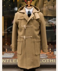 Gloverall Monty Long Duffle Coat Camel