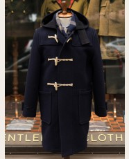 Gloverall Original Monty Duffle Coat Navy