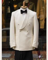 Bladen DB Shawl Dinner Jacket Ivory 36R