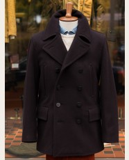 Gloverall Churchill Peacoat Navy