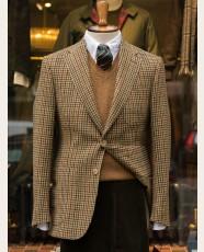 Bladen Gunton Shetland Tweed Jacket Gun Club