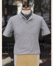 Terry Polo Shirt Grey Melange
