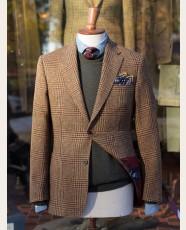 Bladen Gunton Shetland Tweed Jacket Glen Check
