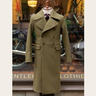 Chrysalis Churchill Army Green Greatcoat 36