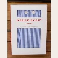 Derek Rose Classic Fit Boxer Shorts Bengal Stripe Blue L