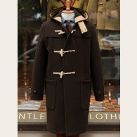 Gloverall Monty Long Duffle Coat Brown L