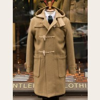 Gloverall Monty Long Duffle Coat Camel L