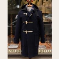 Gloverall Original Monty Duffle Coat Navy
